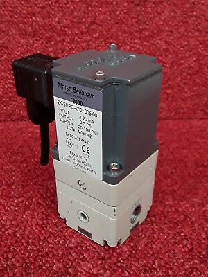 Marsh Bellofram T2000 High Accuracy Pressure Transducer 2K-SHPC-42DF005-00 *