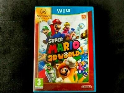 JEUX NINTENDO WII U SUPER MARIO 3D WORLD   (vers  FR )  SELECTS