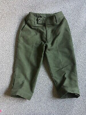 Childrens Green Moleskin Shooting Breeks 24 Worn Once