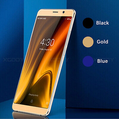 """Cheap 6.0"""" RAM 2GB Unlocked Android Mobile Smart Phone 4Core 16GB 3G/GSM Phablet"""