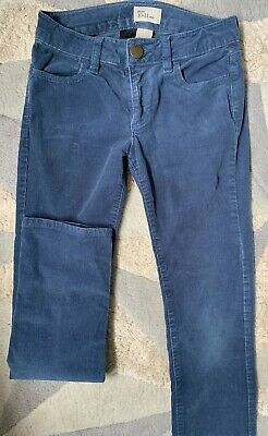 Gap Kids Blue Cord Jeans Trousers Size 10-11 Yrs Girls