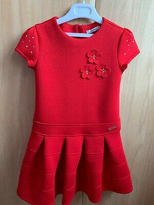 Girls Red Dress Mayoral Age 6