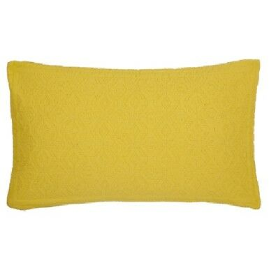 JOHN LEWIS ISANA CUSHION 60 x 30CM SAFFRON COMPLETE WITH INNER POLY PAD
