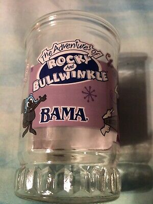 Natasha from the Adventures of Rocky and Bullwinkle Bama Jelly Jar #4 of 6