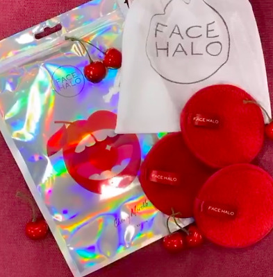 Face Halo Make Up Remover Washable Wipes Protect Planet Chloe Morello Edition