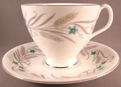 Royal Albert Harvest Song Bone China Teacup & Saucer - England