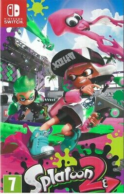 Splatoon 2 (Nintendo Switch, 2017) Brand New Sealed