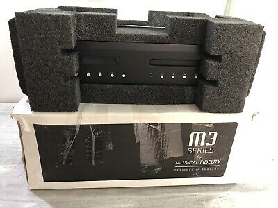 MUSICAL FIDELITY m3scd  M3 Scd cd player with usb  input ,