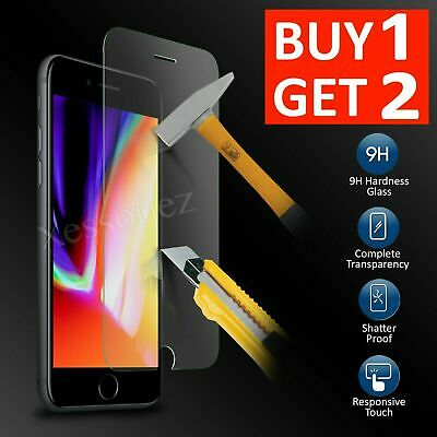 For New iPhone 7 8 6 6s 7 Plus 8 Plus 5s Se Tempered Glass Screen Protector