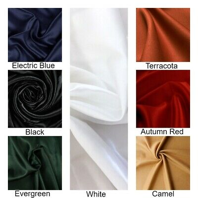 Satin Fabric, Silky Dress Luxury, High Quality Dressmaking Material