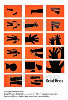 SAUL BASS EXPO 2004 Rdau-POSTER/REPRODUCTION A3+* d1 AFFICHE VINTAGE