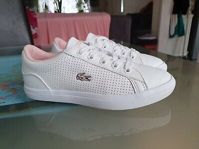 Lacoste girls trainers size uk12kids