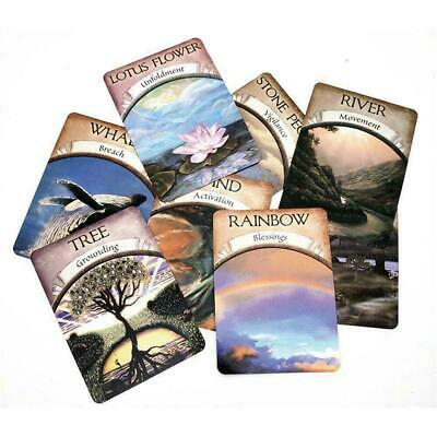 Magic Oracle Cards Earth Magic Read Fate Tarot 48-cards Deck A3G8J