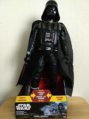 """Star Wars Big Figs Deluxe 20"""" Darth Vader Action Figure with Lightsaber"""