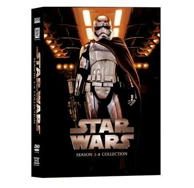 Star Wars: The Complete Saga 1-8 (DVD,14 Disc Collection 2019 ) FREE Shipping!