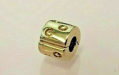 Pandora | 14K Gold Seeing Spots Clip Charm *New* 750345 Rare Retired 585 Ale Usa