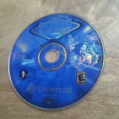 Sonic Shuffle (Sega Dreamcast, 2000) Video Game Disc Only