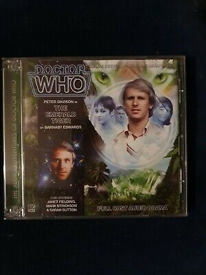 Doctor Who - The Emerald Tiger. Big Finish Productions No. 159. Peter Davison.
