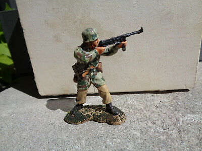 KING & COUNTRY German paratrooper, FALLSCHIRMJAGER machine gun FJ, ch