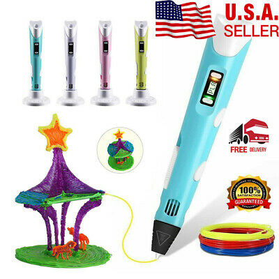 3D Printing Doodler Drawing Pen LED Display for Kids Making and Art Crafts Tool