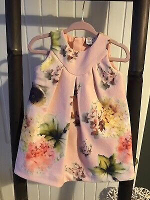 Mini Club (Boots) / Girls 3-6 Months / Pink Floral Dress / BNWT