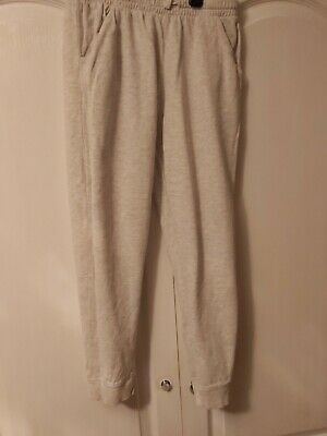 Girls Light Grey Jogging Bottoms By Next Age 11 Years