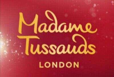 2 X Entry Tickets To Madame Tussauds. Choose date & time (if booked by 23rd Nov)