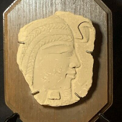 ANCIENT EGYPTIAN Sandstone Carving Artifact New Kingdom Relief