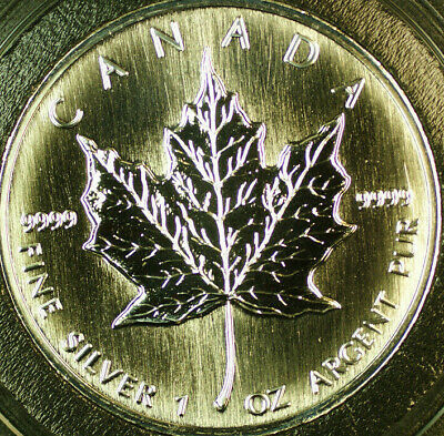 1997 Canada 1oz Silver Maple Leaf Proof-Like $5 Dollars Coin