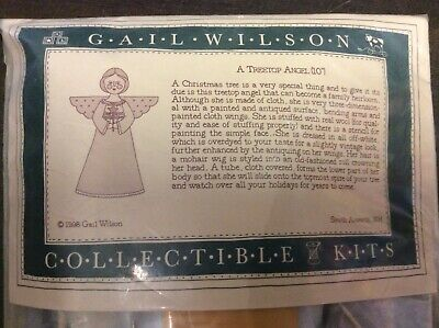 "Doll Kit  : Gail Wilson  Collectible Kit  10"" A Treetop Angel"
