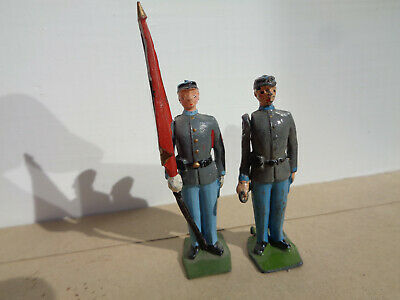 Britains 2060, Civil War Confederate Infantry Bugler hollowcast lead soldier, ww