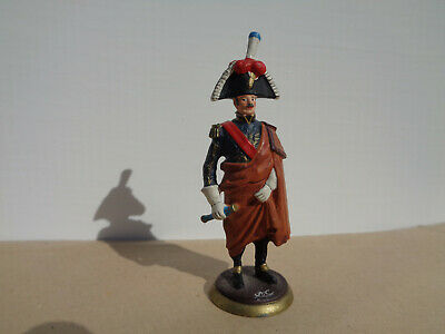 Napoleonic French infantry officer, lead 54mm soldier, TD