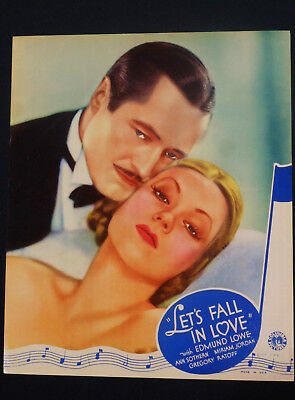 Let's Fall In Love 1933 * Ann Sothern * Edmund Lowe * Absolutely Stunning Jlc!!