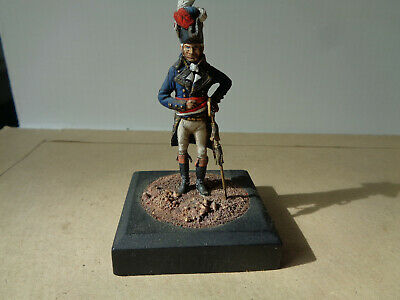 Stadden, French Napoleonic officer 1790's, well painted lead 54mm, WA