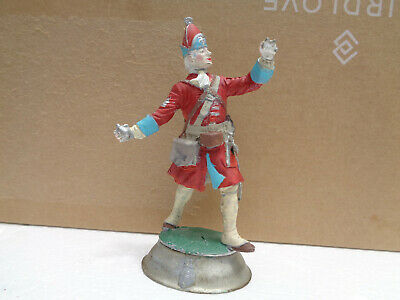 Stadden, British Grenadier, French & Indian War 80mm unpainted lead soldier