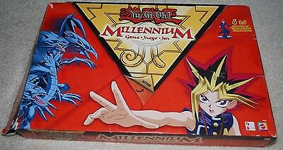 Yu-Gi-Oh! Millennium Board Card Game Mattel 2002 Collector Poster Figures Age 7+