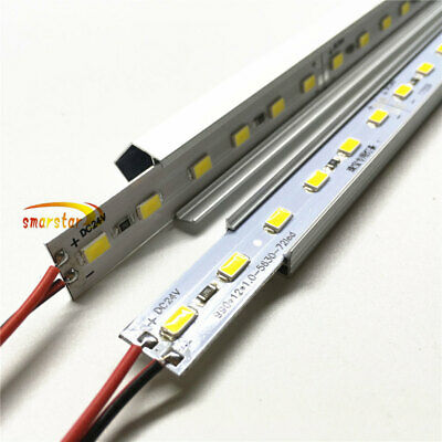 DC 24V 5630 Led Strip Light Rigid Bar U V Aluminum Case Shell 100cm 50cm 25cm