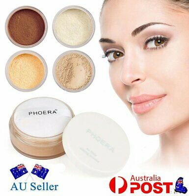 PHOERA No Filter Setting Powder Loose Face Translucent Foundation Makeup Puff OD