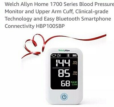 Welch Allyn Home 1700 Blood Pressure Monitor with SureBP Technology Sealed Box
