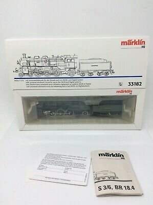 HO scale Marklin 33182 Steam locomotive Class S 3/6