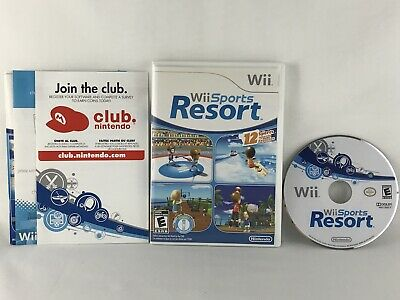 Wii Sports Resort (Nintendo Wii, 2009) Complete Tested
