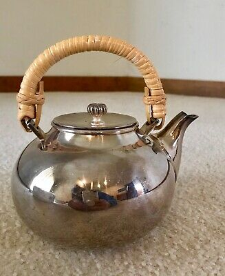 Vintage Newport Silverplate Tea Pot By Gorham