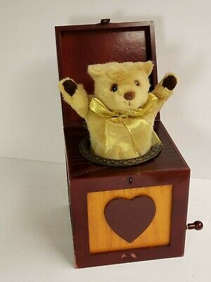 Thomas Pacconi Classics Bear Jack in the Box Pop Goes the Weasel Museum Series