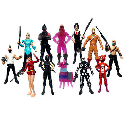12Pcs Fortnite Character Collection Toy Game Action Figure Model Kids Gift uk