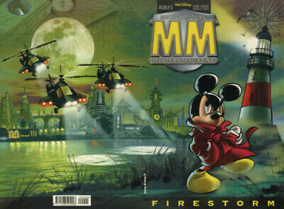 fumetto MICKEY MOUSE MISTERY WALT DISNEY PRODUCTION numero 5