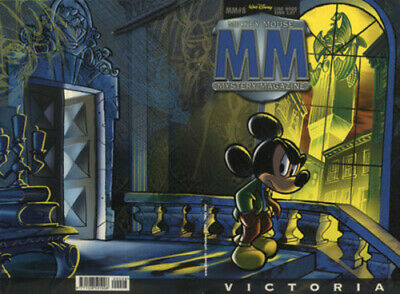 fumetto MICKEY MOUSE MISTERY WALT DISNEY PRODUCTION numero 8