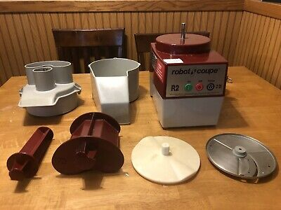 Food Processor Robot Coupe R2 Dice 3 Qt NSF Commercial #2539