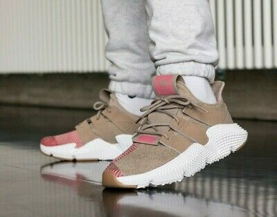 Adidas Prophere Light Brown Kids Trainers Size UK 4 EU 36 2/3 chunky sole shoes