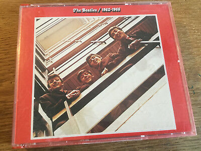 The Beatles  - 1962-1966 [2 CD Box] Rote Red Album / Dickes Case