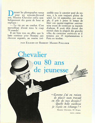Article 6 pages Maurice Chevalier Mars 1969 P1014063